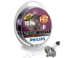 Paar Glühbirnen Philips 12V H7s 55W Night Guide