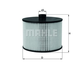 Treibstoff-Filter 103665 - Citroen, Fiat, Ford